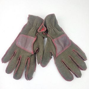 GAP Wool Blend Thick Green Winter Gloves